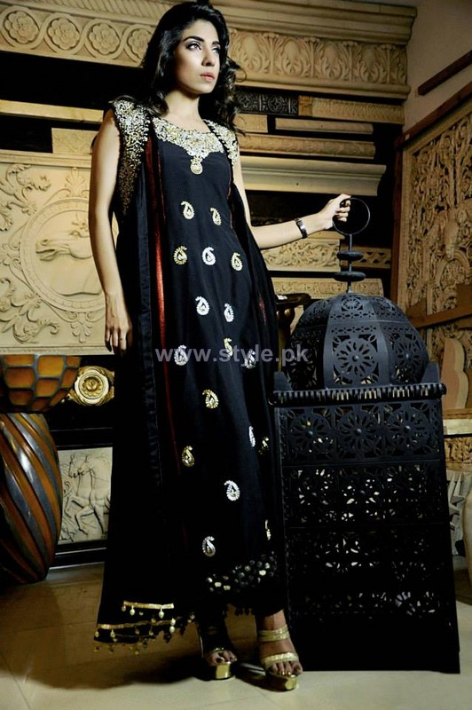 Wajahat Mansoor Party Dresses 2014 For Summer 3