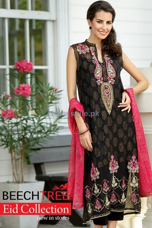 Beech Tree Eid Dresses 2014 For Girls 3