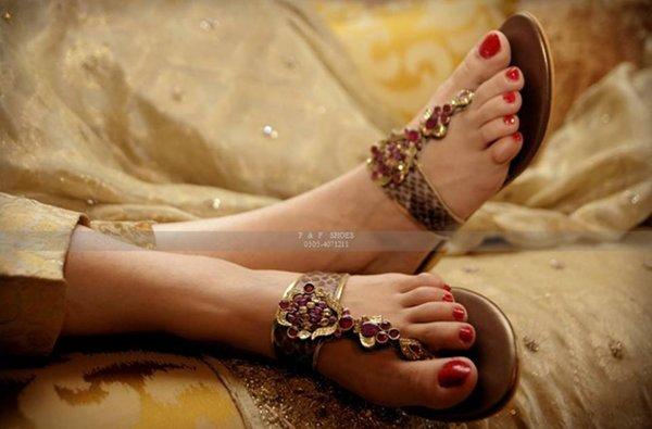 Farah & Fatima Eid Footwear Collection 2014 For Women 004