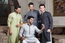 Gul Ahmed Men Kurtas 2014 For Eid 1