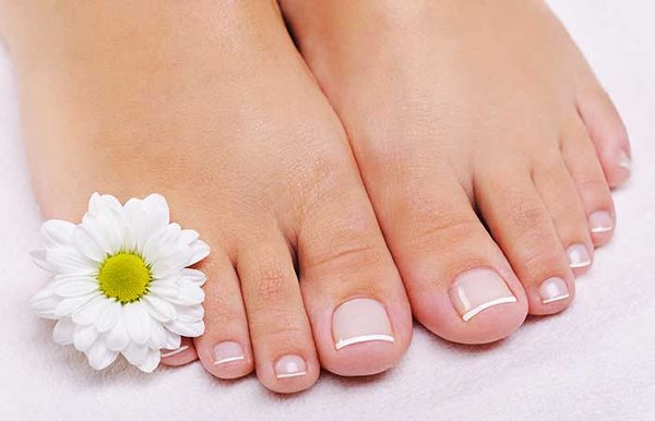 How To Do French Pedicure At Home