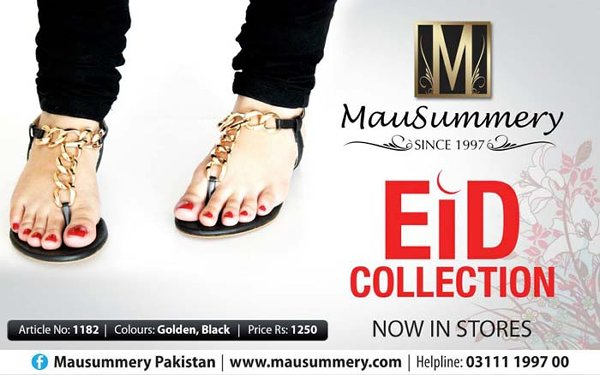 Mausummery Eid Footwear Collection 2014 For Women 003