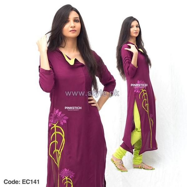 Pinkstich Ramadan Dresses 2014 For Girls 4