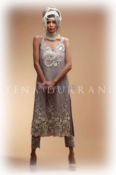 Tena Durrani Eid Dresses 2014 For Girls 4