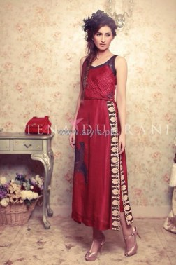 Tena Durrani Eid Dresses 2014 For Women 7