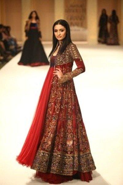 Bridal Anarkali Frocks For Wedding 006