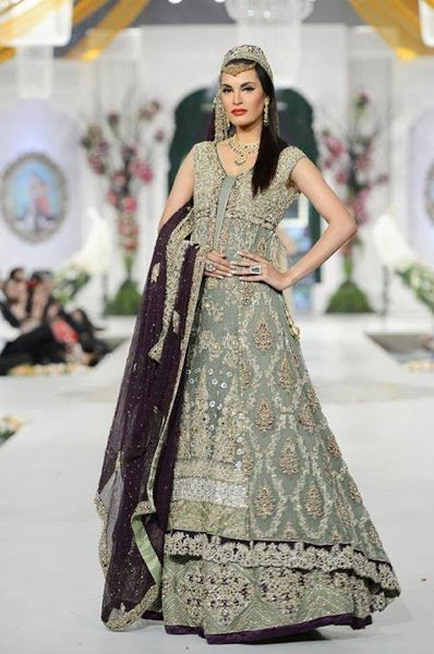 Bridal Anarkali Frocks For Wedding