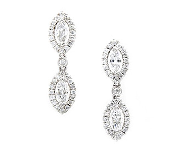 Designs Of Diamond Earrings 2014 For Women 005