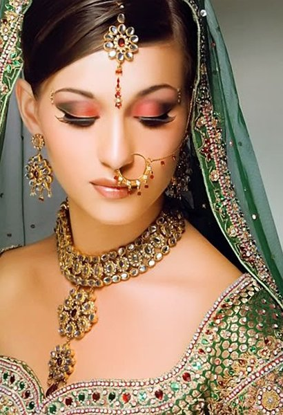 Designs Of Kundan Jewellery 2014 For Women 009