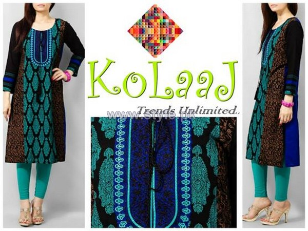 Kolaaj Mid Summer Dresses 2014 For Women 8