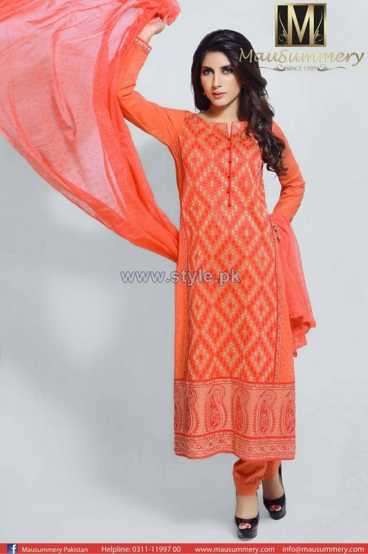 Mausummery Eid-Ul-Azha Dresses 2014 For Women 4