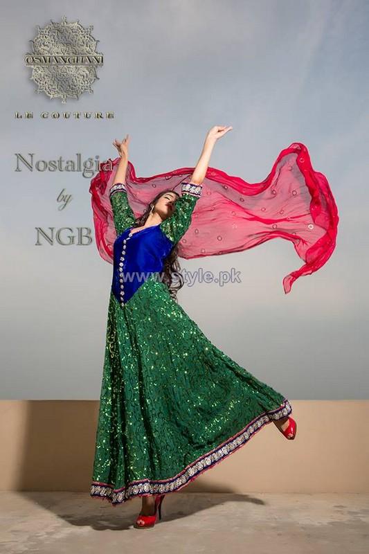 Osman Ghani Formal Dresses 2014 For Girls 3