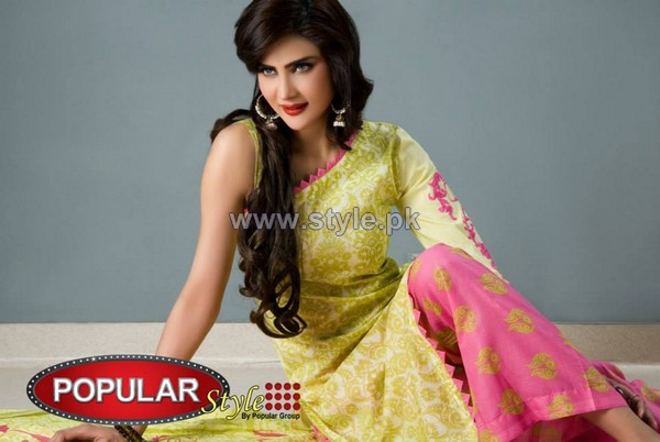 Popular Style Lawn Dresses 2014 For Summer 4