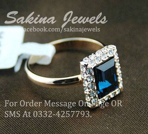 Sakina Jewelery New Collection 2014 For Women 0016