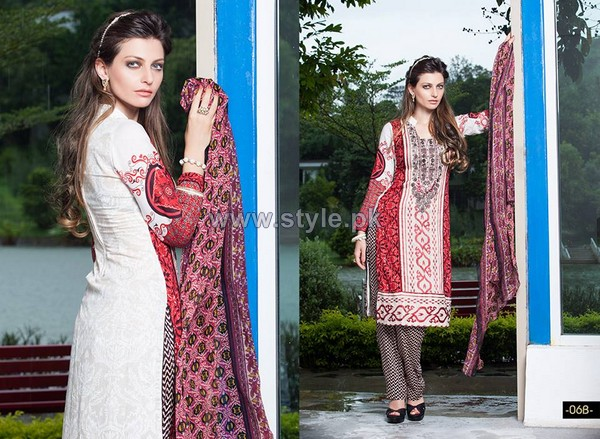 Shariq Textiles Libas Embroidered Dresses 2014 3