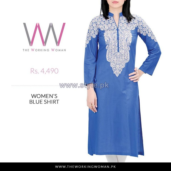 The Working Woman Mid Summer Dresses 2014 For Women 7