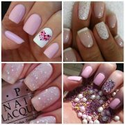 trends of wedding nail art design