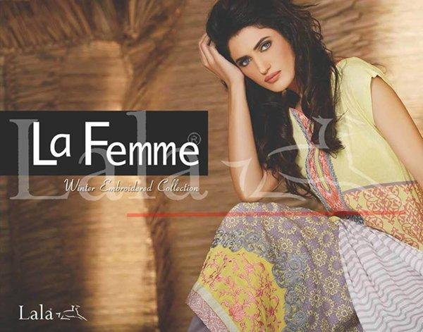 Lala Textile La Femme Winter Collection 2014-2015 For Women 0014