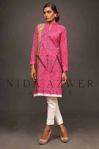 Nida Azwer Eid Ul Azha Collection 2014 For Women 009