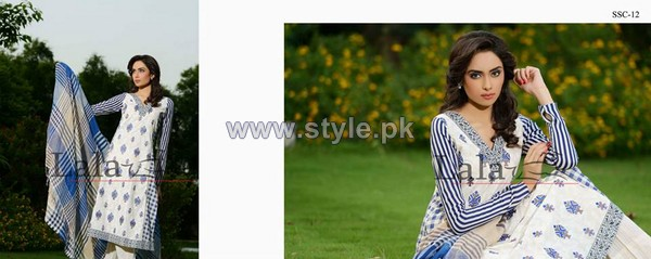 Sana Samia's Mid Summer Dresses 2014 For Women 10