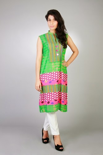 Sanam Chudhary Eid Ul Azha Collection 2014 For Women 003