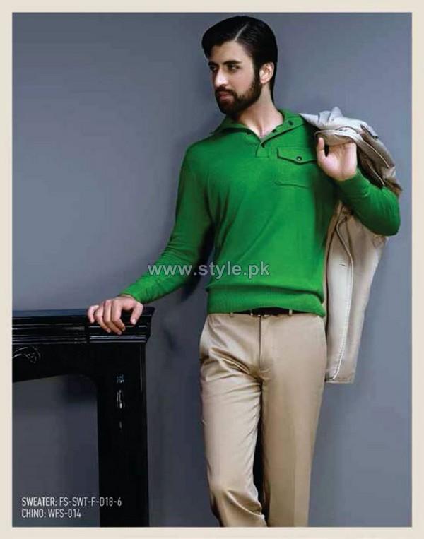 Gul Ahmed Ideas Winter Dresses 2014 For Men 4