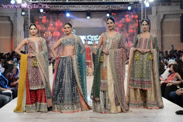 PFDC L'Oreal Paris Bridal Week 2014 Day 1 Pictures