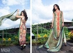 Mavi Designer Winter Dresses 2014 By Shariq Textiles 12