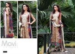 Mavi Designer Winter Dresses 2014 By Shariq Textiles 13