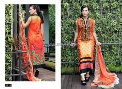 Mavi Designer Winter Dresses 2014 By Shariq Textiles 2