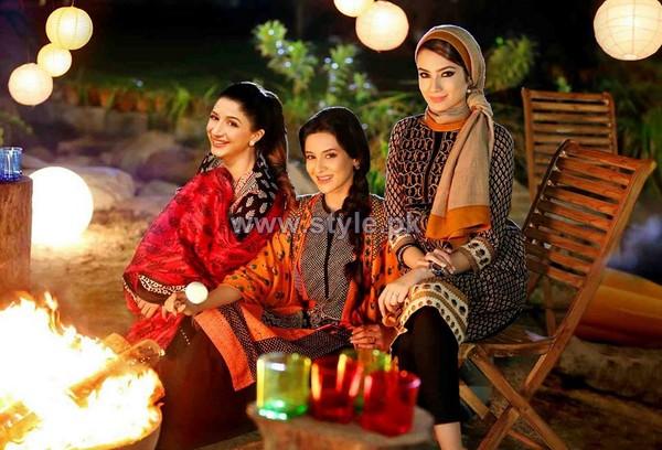 Nishat Linen Pret Dresses 2014 For Fall Winter 3