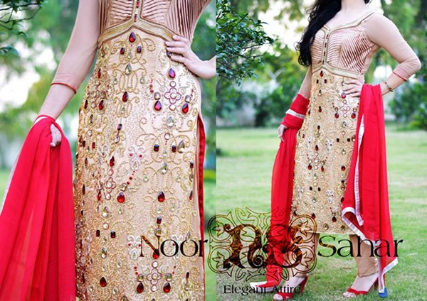 Noor Sahar Fall Collection 2014 For Women 007