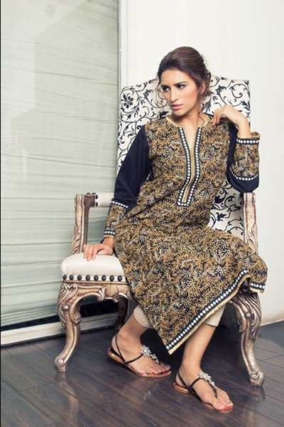 Sana Safinaz Ready To Wear Eid Collection 204 For Women 002