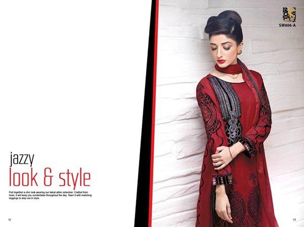 Shaista Cloth Winter Collection 2014 Volume 2 For Women 0012