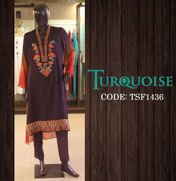 Turquoise Fall Collection 2014 For Women 004