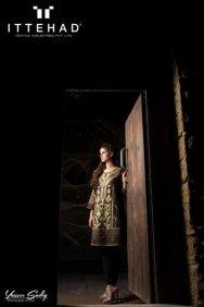 Ittehad Textiles Winter Dresses 2014 For Women 001