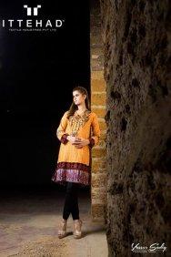 Ittehad Textiles Winter Dresses 2014 For Women 002