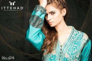Ittehad Textiles Winter Dresses 2014 For Women 006