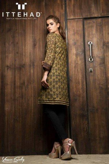 Ittehad Textiles Winter Dresses 2014 For Women