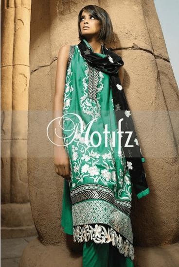 Motifz Winter Dresses 2014 For Women 004