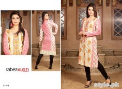 Rabea Kurti Collection 2014 by Shariq Textiles 5
