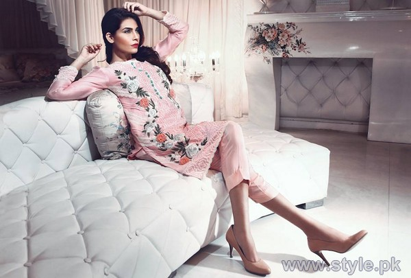 Suffuse by Sana Yasir Fall Dresses 2014 For Girls 4