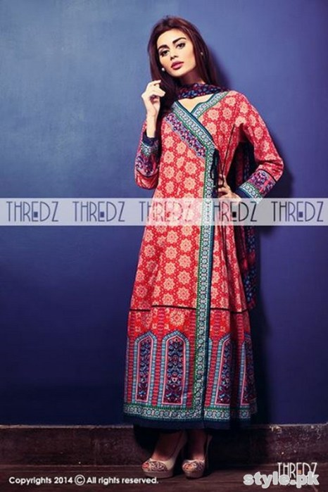 Thredz Cambric Dresses 2014 For Winter 3