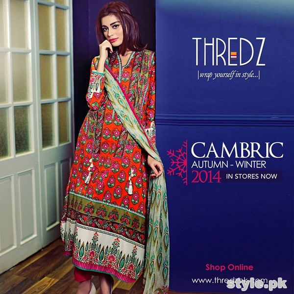 Thredz Cambric Dresses 2014 For Winter 5
