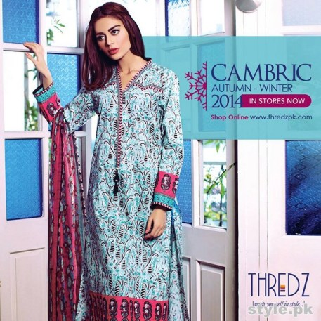 Thredz Cambric Dresses 2014 For Winter 8