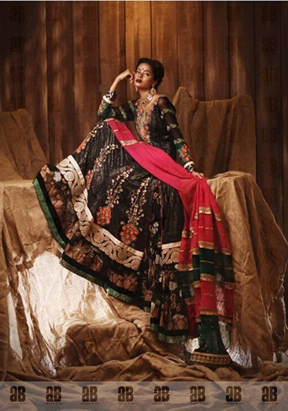 Ahmad Bilal Bridal Wear Dresses 2014 For Women 006
