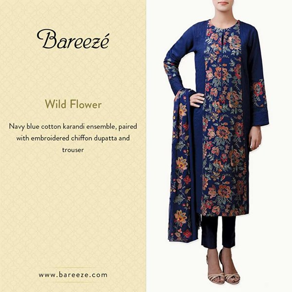 Bareeze Winter Dresses 2014 For Women 0013
