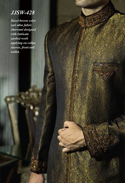 Junaid Jamshed Sherwani Collection 2014 For Men 002