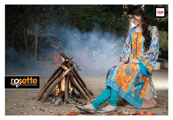 LSM Fabrics Digital Kurtis Collection 2014 For Women 002