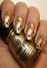 Latest Nail Art Designs 2014 For New Year 0018